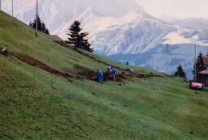 Arbeitstag Herbst 1990